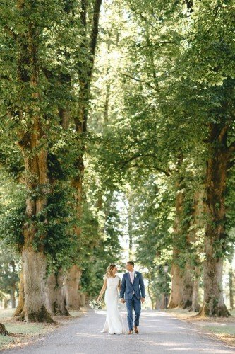 Tankardstown's lime tree avenue is the perfect entrance to the magnificent estate that awaits.
