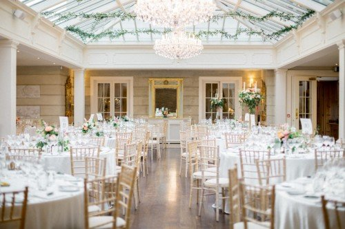 Tankardstown's magnificent Orangery ca seat up to 230 guests for dinner