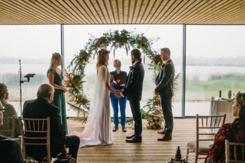 The Boathouse Ceremony Room by David McClelland Photography