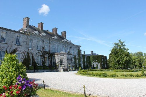 The front of Castle Durrow