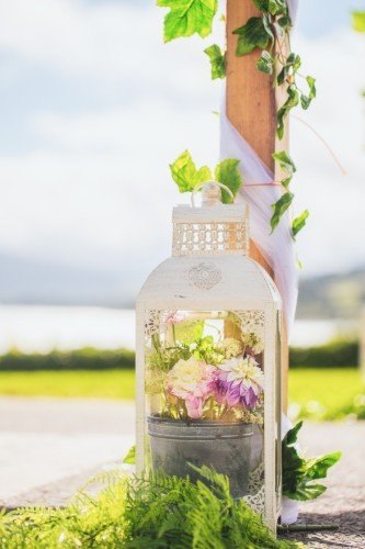 Outdoor Ceremony at The Avon Lakeshore Wedding Venue, Blessington Lakes