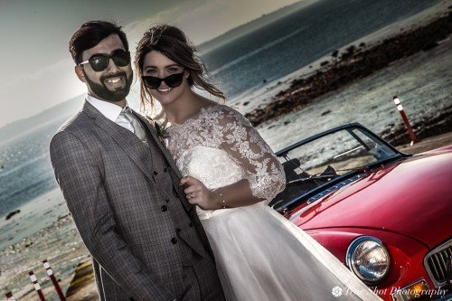 Bride and Groom at Howth