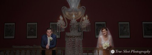 Bride and Groom at Palmerstown House