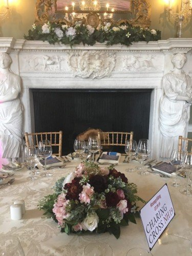 Venue Styling at Luttrelstown Castle by All About Weddings