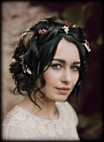 boho bride braid hairstyle