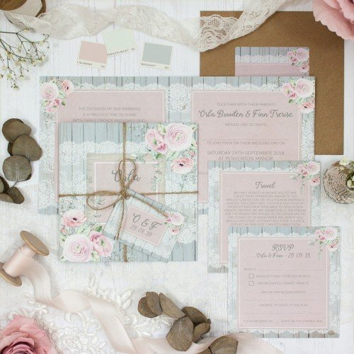 Dusty Flourish Collection