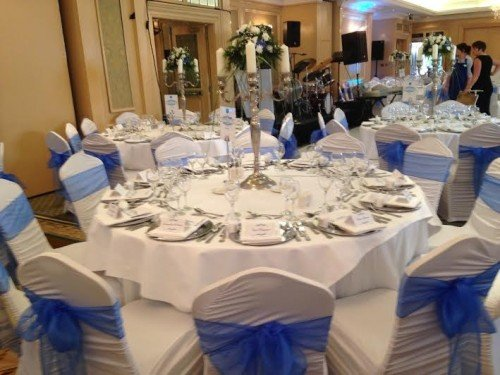 Chair Covers, Reception Decoration,Candles, Lanterns