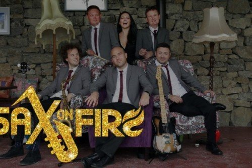 Wedding Bands - Sax on Fire