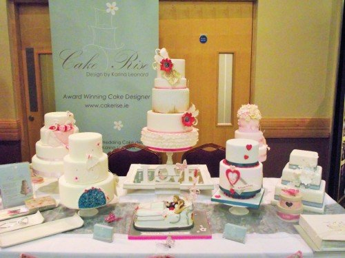 Wedding Cake Display at the Radisson Blu Hotel Sligo Jan 2014