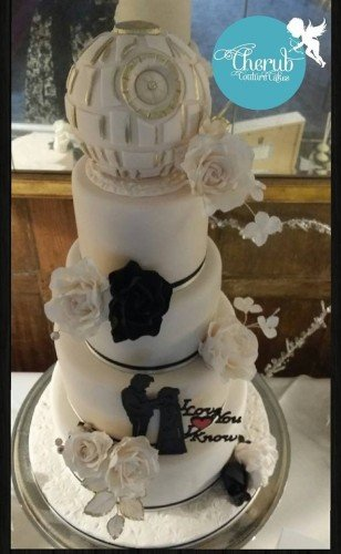 Wedding Cakes - Cherub Couture Cakes at Waterford Castle