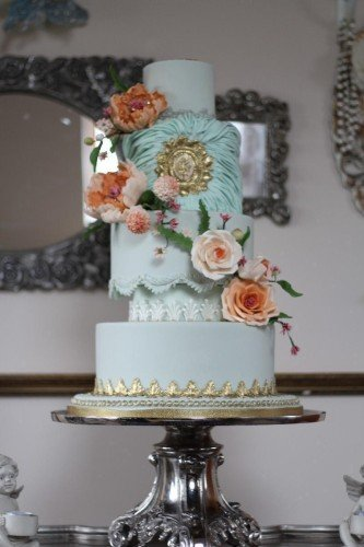 Wedding Cakes - Cherub Couture Cakes at Carton House Hotel