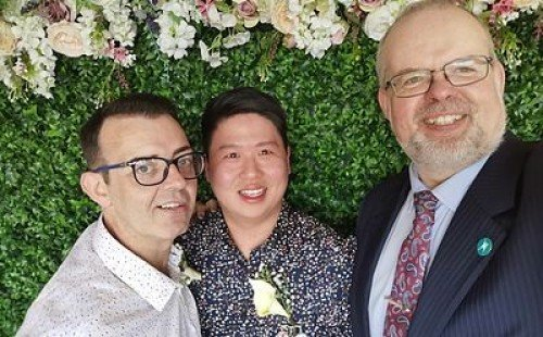 Wedding Celebrants & Registered Solemnisers delighted to be able to help same sex couples celebrate their big day