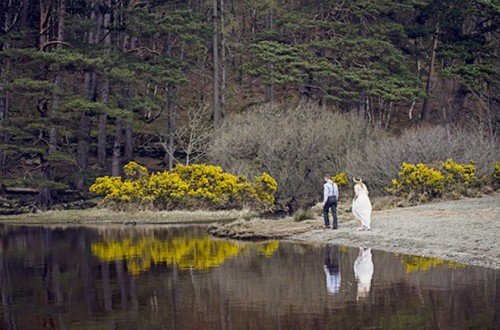 wedding glendalough, elopement Ireland,