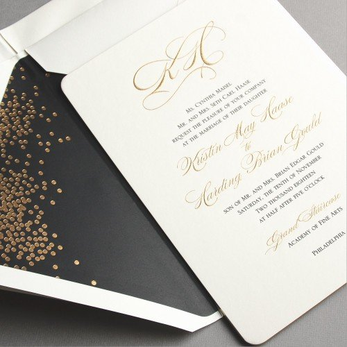 Wedding Invitations and Stationery - Vera Wang Stationery from InkPretty