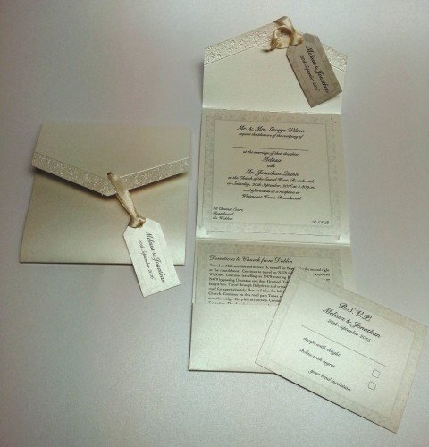 Wedding Invitations - Lantz Weddings
