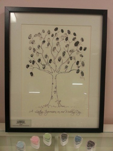 Fingerprint Tree - Lantz Weddings