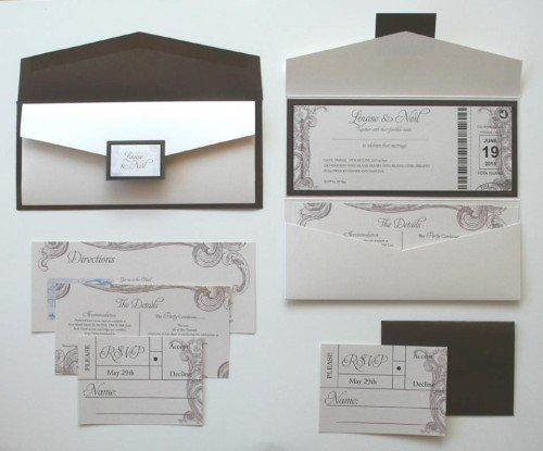 Wedding Invitations - Stephs Personalised Cards