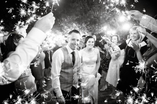 Wedding Sparkles at the Headfort Arms Hotel