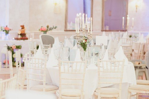 Wedding Table with Chiavari Chairs