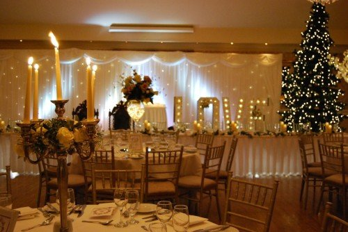 Christmas Wedding Setup/ Hotel Wedding Venues | Great National Abbey Court Hotel