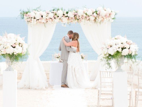 Weddings by Rebecca- Private villa wedding