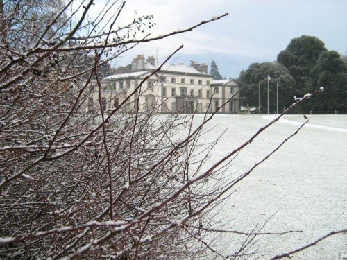 What about a winter wedding with a dusting of snow?