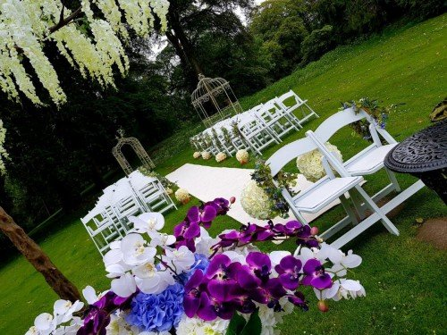 Civil Ceremony in our Manicured Gardens