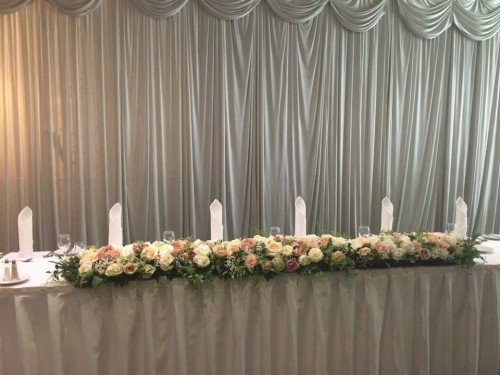 Wildflower Centrepieces by All About Weddings