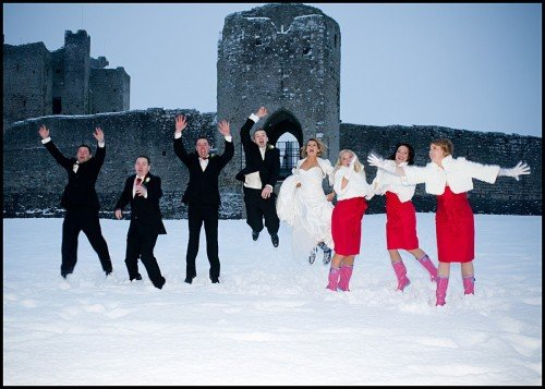 Winter Wedding, Christmas Wedding, Castle Wedding Venue, Trim Castle, Trim Castle Hotel