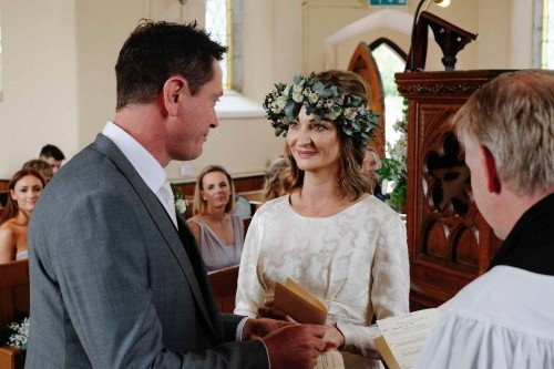 carol dunne photography wedding photography couple bride and groom ceremony marriage vows church happy love