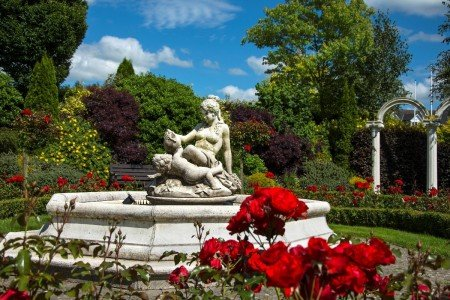 Water Feature in our Secret Gardens / Hotel Wedding Venues | Great National  Abbey Court Hotel, Lodges & Trinity Leisure Spa