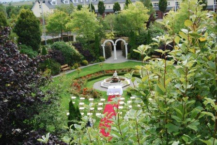 Civil Ceremony Outdoor Wedding Setup/ Hotel Wedding Venues | Great National Abbey Court Hotel