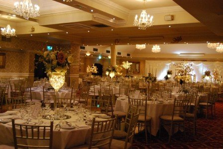 Wedding Setup with our Own Chiavari Chairs/ Hotel Wedding Venues | Great National Abbey Court Hotel