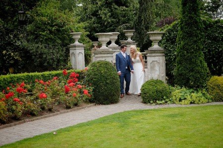 Garden Pillars and Walkway in our Secret Garden / Hotel Wedding Venues | Great National  Abbey Court Hotel, Lodges & Trinity Leisure Spa