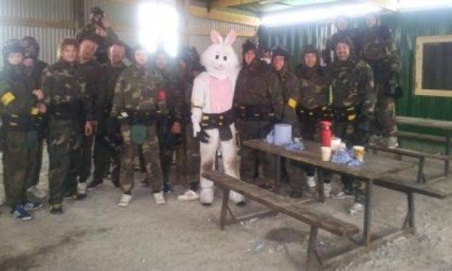 Galway Ireland Stag and Hen paintball Party