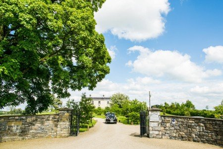 Main Gate at Clonabreany House