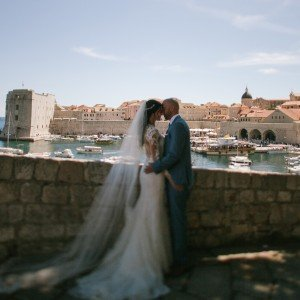 Dubrovnik Wedding panorama