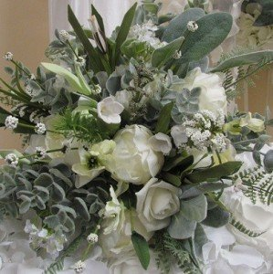 Silk Bouquet by All About Weddings