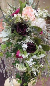 silk bouquets by AllAbout Weddings