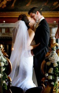 couple kiss, Bride and Groom Romantic Kiss,documentary style, natural, reportage, candid, real wedding at Carton House, romance