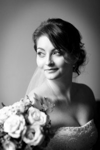 Bridal Bouquet, window light, real wedding, documentary style, natural, reportage, candid, black and white,