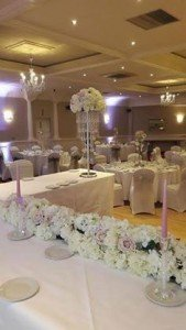 Venue Styling by All About Weddings