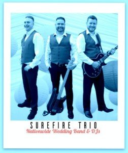 Wedding Bands - Surefire Trio - Dance With Us Tonight