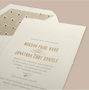 Vera Wang Stationery From Inkpretty Wedding Invitations Mass
