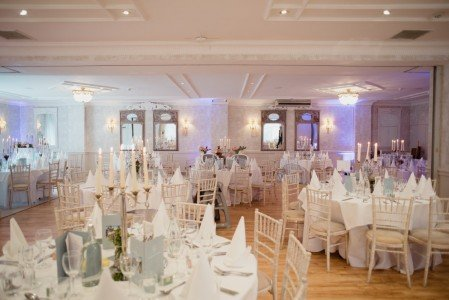 Wedding Reception in the Lavender Suite