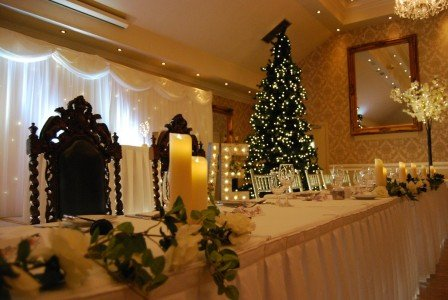 Top Table Christmas Wedding/ Hotel Wedding Venues | Great National Abbey Court Hotel