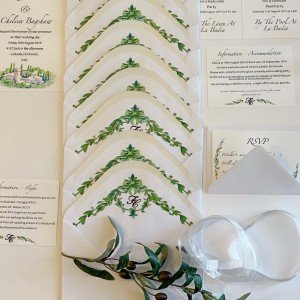 You�ve got mail, amazing creation by our bride, on trend with the Pantone
